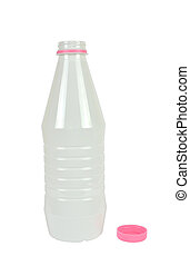 Plastic Bottle Isolated
