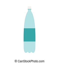 Plastic bottle of water icon