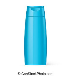 Plastic Bottle Shampoo Packaging