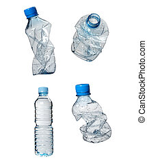 plastic bottles trash waste ecology