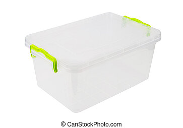 Plastic box for food