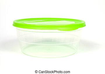 Plastic box for food