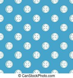 Plastic button pattern seamless blue