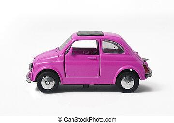 little model of an old italian car