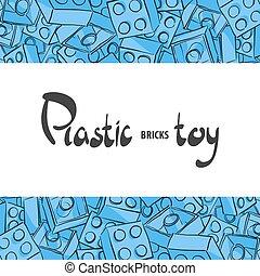 Plastic children's designer