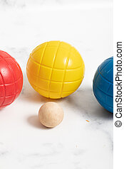 plastic colored ball for child. outdoor game