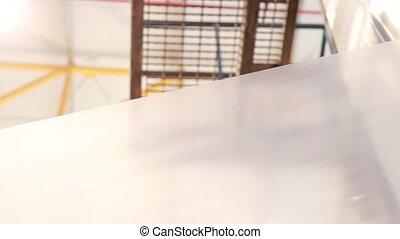 Plastic extrusion process machines - Heating polyethylene...
