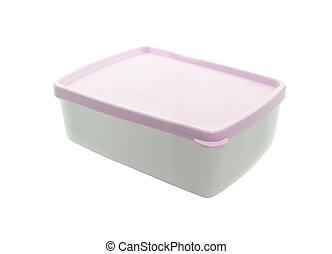 Plastic food package