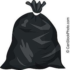 Plastic garbage ba