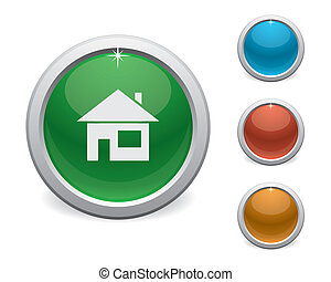 plastic home button