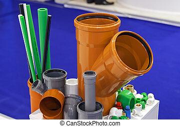 Plastic hoses for engine