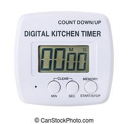 plastic kitchen digital timer