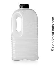 plastic milk bottle