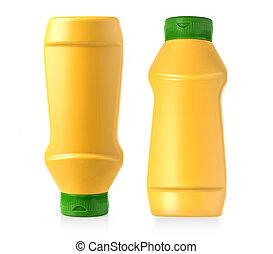 Plastic Mustard bottle