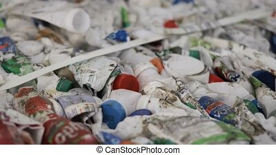 Plastic packaging and bottles from dairy products to reuse ...