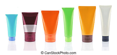 plastic packaging of product