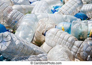 plastic pollution - pollution caused by plastic garbage
