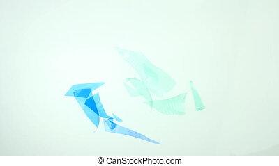 plastic recycle concept