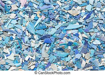 Plastic resin pellets background