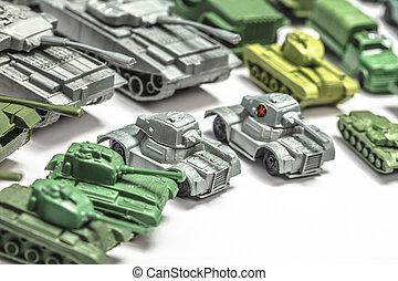 plastic tank toys