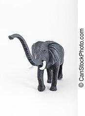 plastic toy animal elephant