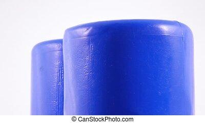 Plastic toy cylinder - Rotating Children's Plastic Cylinder...