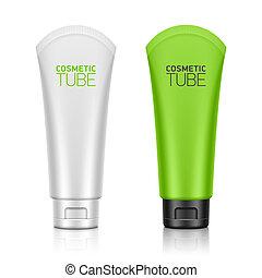 Plastic tube - Cosmetic packaging, plastic tube