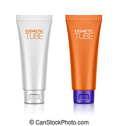 Plastic tube - Cosmetic packaging, plastic tube