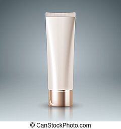 Plastic  tube - Packaging for cosmetics and toothpaste