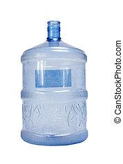 Plastic water barrel