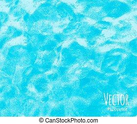 Plasticine background blue