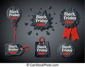 Plasticine Black Friday banners