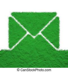 Plasticine of mail icon