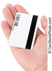 plastik, digital, daten, karte