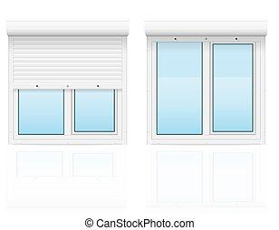 rollen fenster vektor fensterl den vektor suche clipart illustration zeichnung und eps. Black Bedroom Furniture Sets. Home Design Ideas