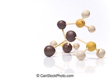 plastilin, molekül