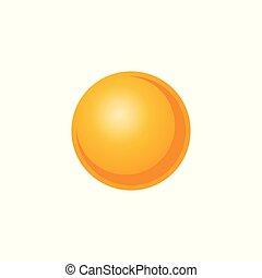 plat, étoile, soleil, système, illustration, vecteur, solaire, style.