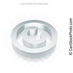 plat, 10, droit d'auteur, eps, icon:, métallique, vector., 3d, droit & loi, transparent, ombre