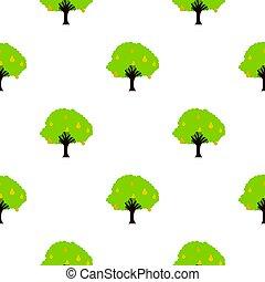 plat, arbre fruitier, modèle, grand