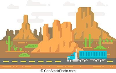 plat, arizona, conception, linely, route