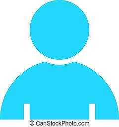 plat, avatar, knoop, meldingsbord, lid, gebruiker, pictogram
