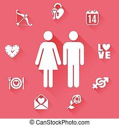 plat, concept, amour