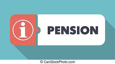 plat, concept, pension, design.