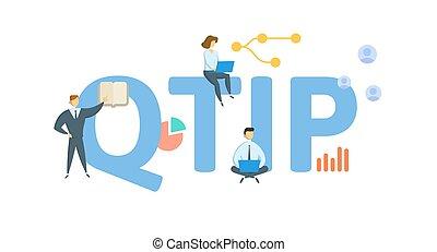 plat, concept, white., intérêt, icons., vecteur, qualifié, gens, property., isolé, terminable, qtip, illustration., keywords