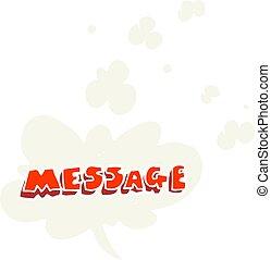 plat, couleur, texte, illustration, message, dessin animé