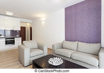 plat, -, cozy, sofa