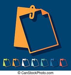 plat, design:, presse-papiers