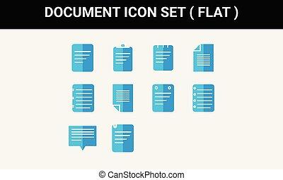 plat, document