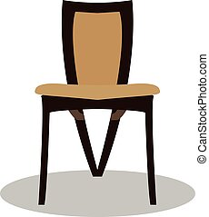 plat, eps, eps10, jpg, vecteur, chaise, icône, chaise, sentier, icône