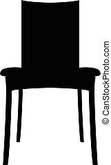 plat, eps, eps10, jpg, vecteur, icône, chaise, sentier, icône